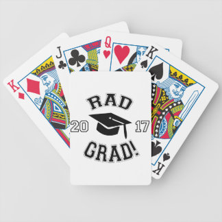 Rad Grad 2017 Bicycle Playing Cards