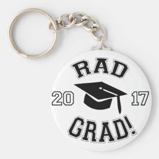 Rad Grad 2017 Keychain