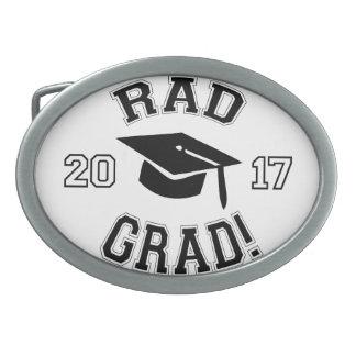 Rad Grad 2017 Oval Belt Buckle