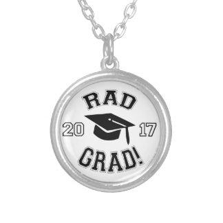 Rad Grad 2017 Silver Plated Necklace