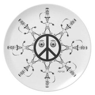 Rad Hatter #1 Dinner Plate