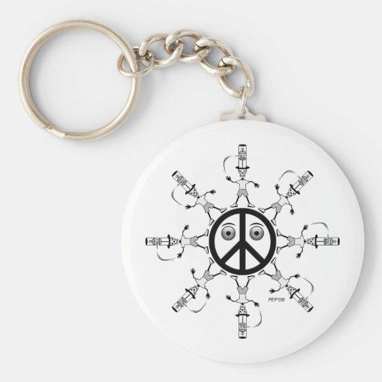 Rad Hatter #1 Keychain