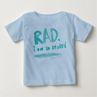 Rad I Am So Stoked Baby T-Shirt