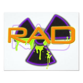 """Rad Invitación 4.25"""" X 5.5"""""""