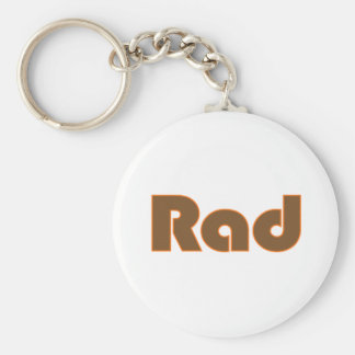 Rad Keychain