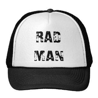 """RAD MAN "" CAP by eZaZZleMan ( e_Zazzle_Man ) Trucker Hat"