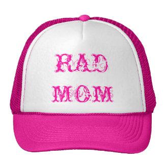"""RAD MOM"" CAP by eZaZZleMan ( e_Zazzle_Man ) Hats"