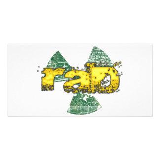 Rad Personalized Photo Card
