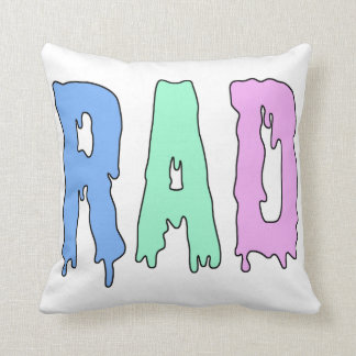 RAD Pillow in Dripping Paint