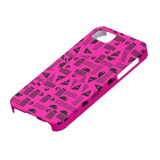 Rad Pink & Black iPhone SE/5/5s Case