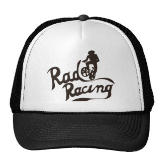 rad racing mesh hat
