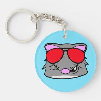 Rad Rat Keychain