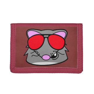 Rad Rat Tri-fold Wallets