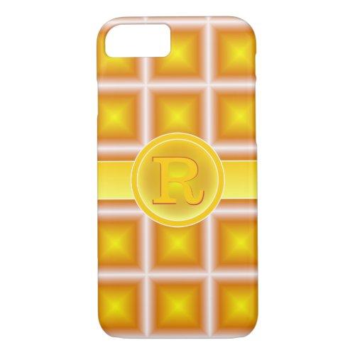 Rad Red Gold Starlight 3D Monogram Phone Case
