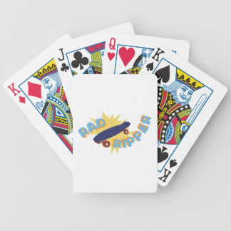 Rad Ripper Skateboard Bicycle Playing Cards