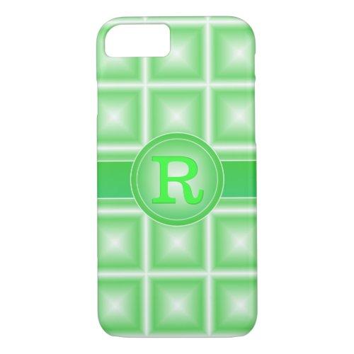 Rad Spring Green Starlight 3D Monogram Phone Case