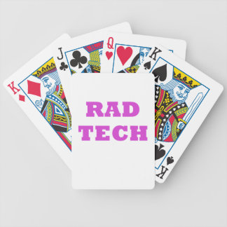 Rad Tech Bicycle Playing Cards