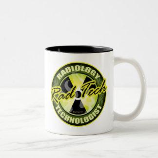 Rad Tech Two-Tone Coffee Mug