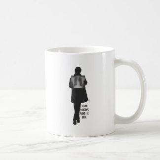 Rad Techs See It All (Inside of a Woman) Classic White Coffee Mug