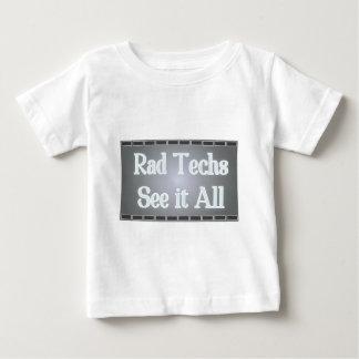 Rad Techs See It All (X-Ray Film) Baby T-Shirt