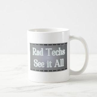 Rad Techs See It All (X-Ray Film) Coffee Mug