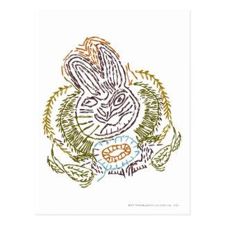 RADAGAST™ Embroidery Postcard