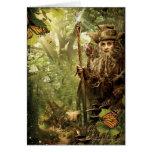 RADAGAST™ en bosque Felicitación