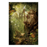 RADAGAST™ en bosque Poster