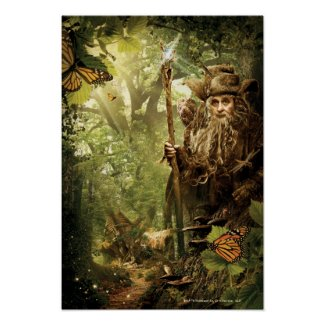 Radagast in Forest Posters