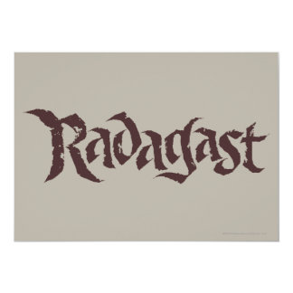 RADAGAST™ Name Solid Card