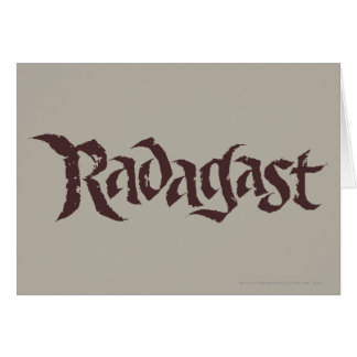RADAGAST™ Name Solid Card