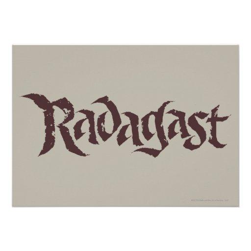RADAGAST™ Name Solid Invitations