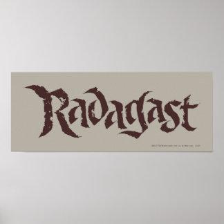 RADAGAST™ Name Solid Poster
