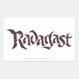RADAGAST™ Name Solid Rectangular Sticker