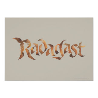 RADAGAST™ Name Textured Card