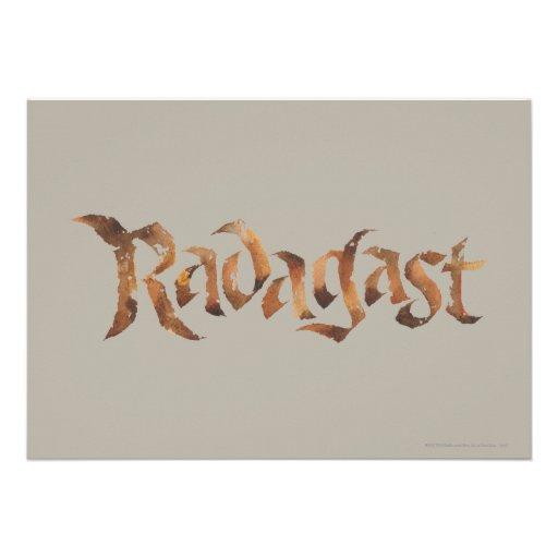 RADAGAST™ Name Textured Invitations