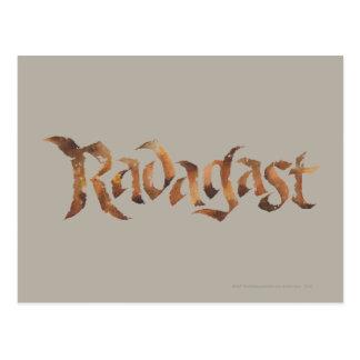 RADAGAST™ Name Textured Postcard