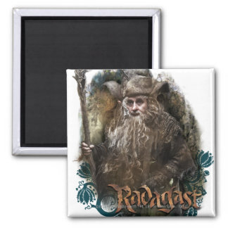 RADAGAST™ With Name 2 Inch Square Magnet