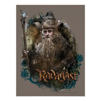 RADAGAST™ With Name Poster