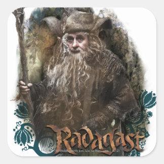 RADAGAST™ With Name Square Sticker
