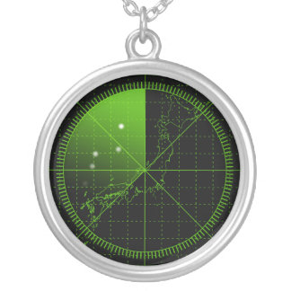 Radar1 Round Pendant Necklace