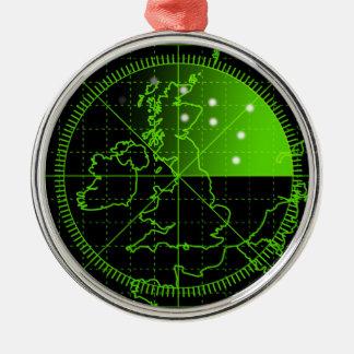 Radar2 Metal Ornament