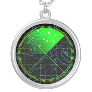 Radar4 Round Pendant Necklace