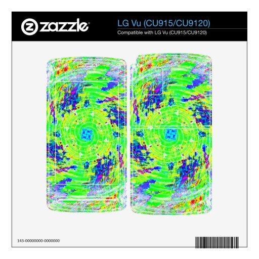 Radar Calcomanía Para LG Vu