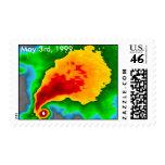 Radar Doppler - 3 de mayo de 1999 franqueo