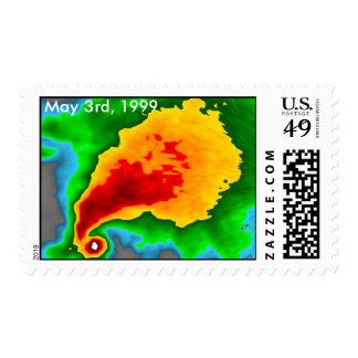 Radar Doppler - 3 de mayo de 1999 franqueo Timbre Postal