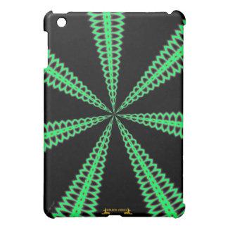 Radar green pattern graphic design digital design iPad mini covers