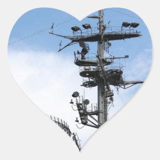 Radar Heart Sticker