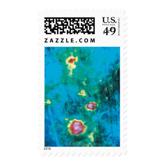 Radar Image Data Postage Stamp