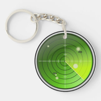 Radar Keychain